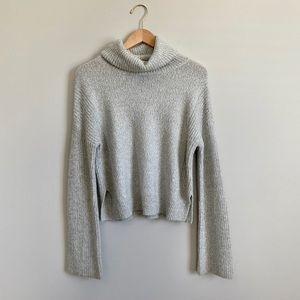 Grey Calvin Klein Turtleneck Sweater